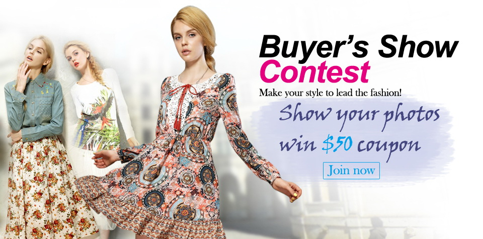 buyer's show contest to win $50
